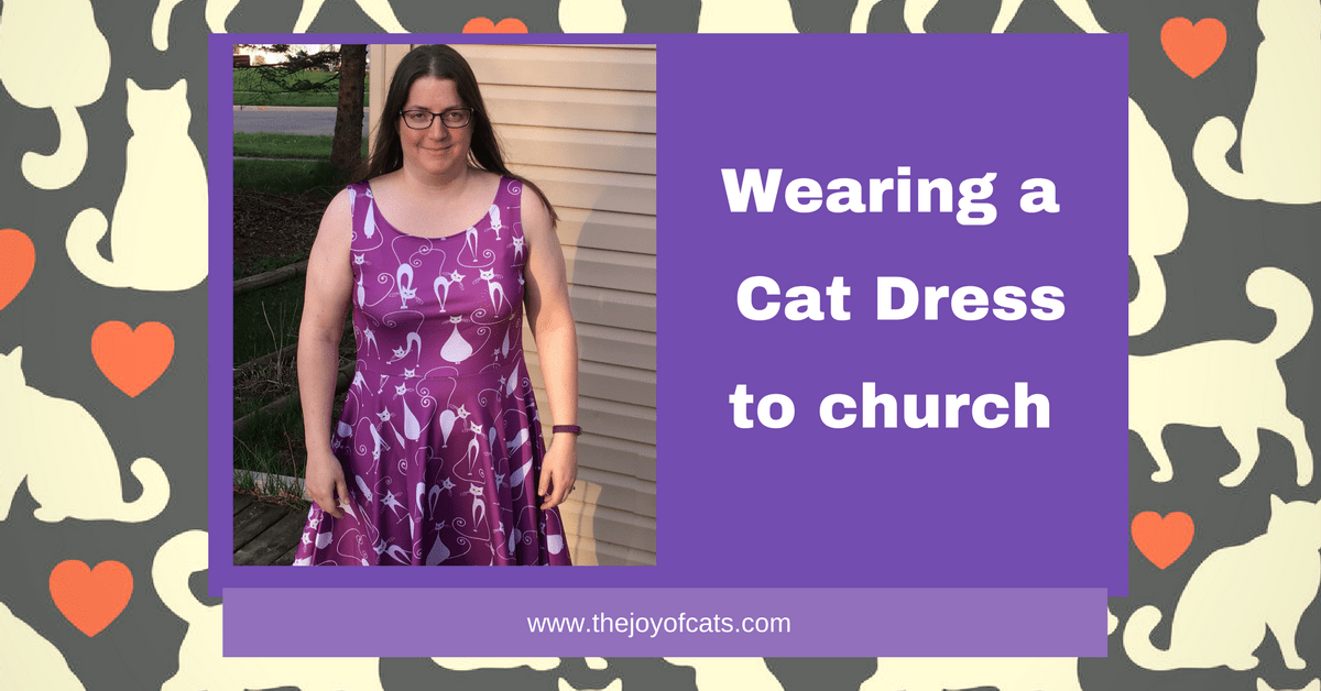 Wearing a Cat Dress to church